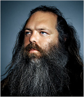 O mago produtor Rick Rubin
