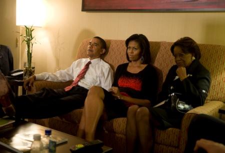 Foto tirada do Flickr de Obama.