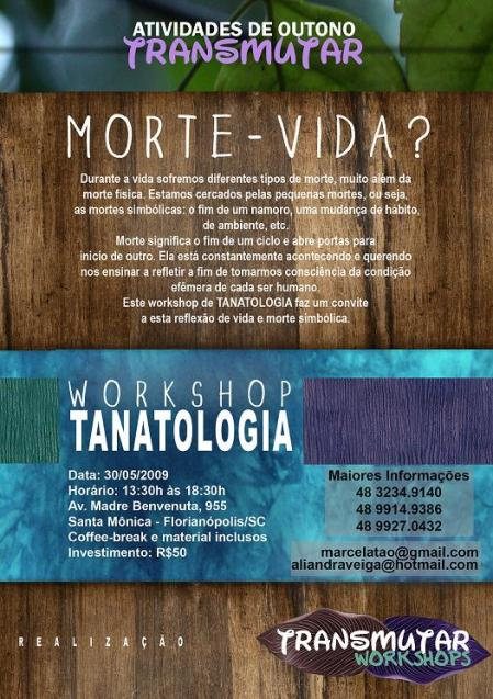 WORKSHOP TANATOLOGIA
