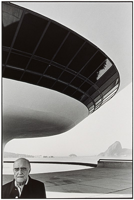 Oscar Niemeyer por Luiz Garrido