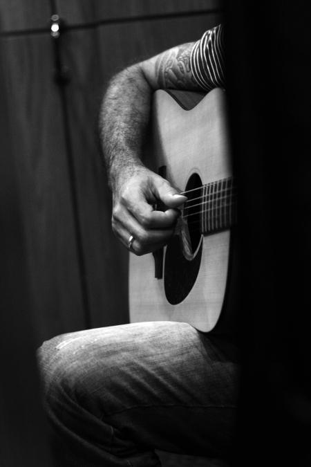 Barreto e o violão