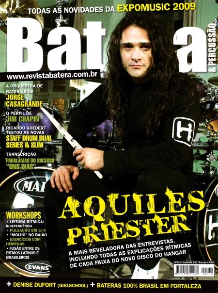 Capa da Revista Batera por Antonio Rossa